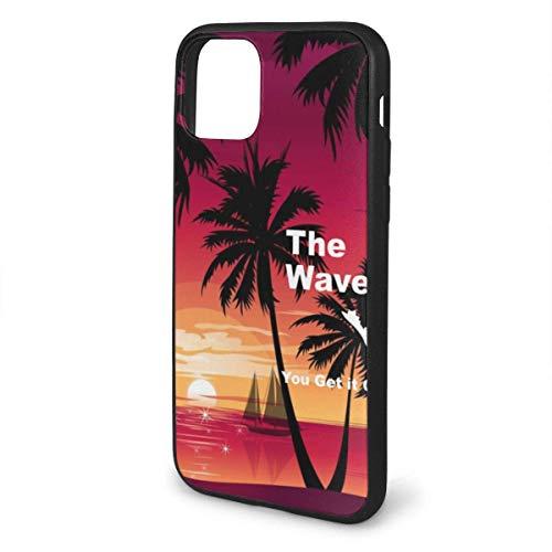 para iPhone 11 Pro MAX Case, TPU Suave a Prueba de Golpes Funda Protectora antiarañazos para iPhone 11 Pro MAX, The Jeep Wave Lo entiendes o no