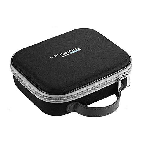 1Pcswaterproof Box Bag Zwart Eva Draagbare Opbergdoos Voor Camera Onderdelen Ritszak Hoes Voor Gopro