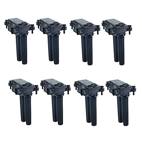 A-Premium Engine Ignition Coil Packs Compatible with Jeep Grand Cherokee 2006-2015 300 Aspen Dodge Charger Durango Challenger Ram 1500 2500 3500 8-PC Set