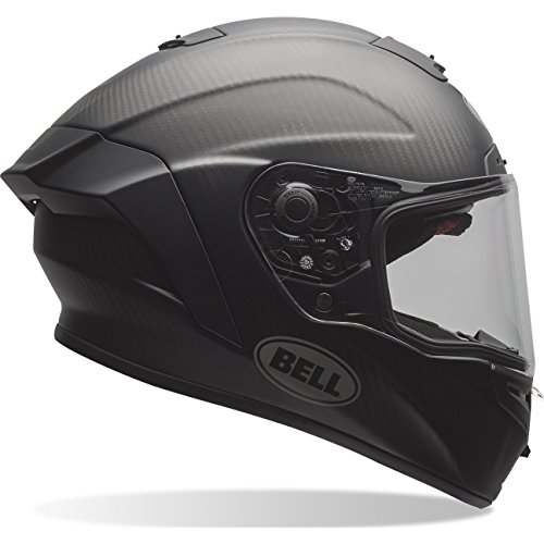 Bell Race Star, Helmets Uomo, Solid Black Matt, L