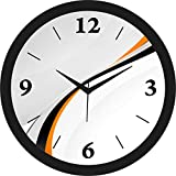 """Ideal for living room, Bedroom,kids room , kitchen and offices. Material of the frame: Plastic,Shape : Round, Material of the tranparant face: Glass Packege Contains : 1 Wall Clock Dial size: 11.75 inches in diameter Uses 1 """"AA"""" battery - not include..."""