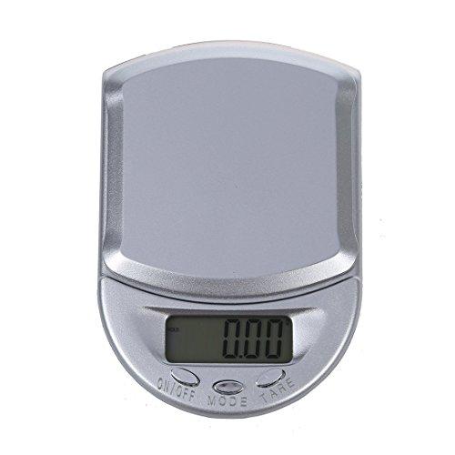 SODIAL(R) 100g/0.01g Bascula Digital de Precision Balanza Joyeria Portatil con 2 Bateria
