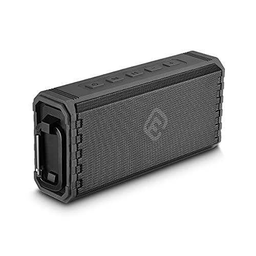 40s Bluetoothスピーカー ブルートゥース 5.0 スピーカー 防水 重低音 大音量 ステレオ ワイヤレス SDカード ポータブル ハンズフリー 風呂 ランダム再生 車 複数台接続 日本メーカー HW2 (ブラック)