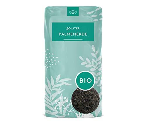 Cuxin Bio Palmenerde 50 l ● Erde mit 100 Tage organischem Dünger (Bio Palmenerde, 50 L)