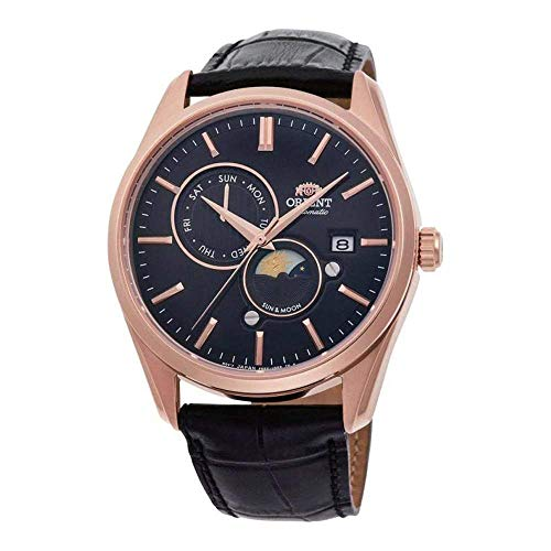 Orient Sun and Moon Automatic Black Dial Men's Watch RA-AK0304B10B