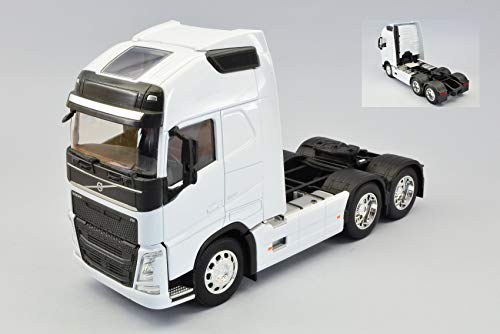 VOLVO FH 3-AXLE 2016 WHITE 1:32 - Welly - Camion - Die Cast - Modellino