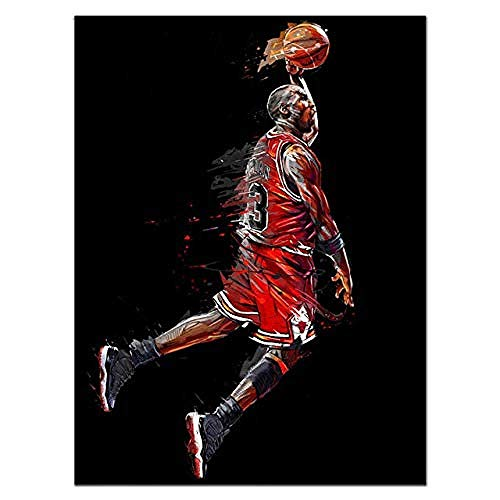 Diy 5D Diamond Painting Cross Stitch Wall Art Kobe Bean Bryant Kobe Bryant Basketball Star Portrait Embroidery For Living Room 40X50Cm