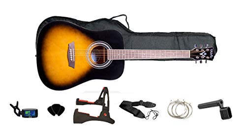 GWL George Washburn Limited Pack Guitarra Acústica