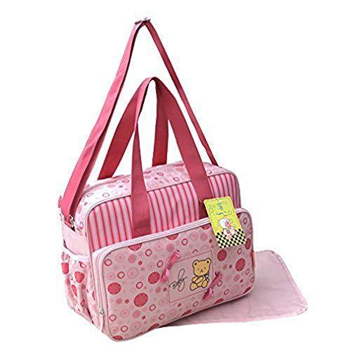 GMMH 2pièces sac à langer Entretien Sacoche Sac à langer bébé rose de sélection de couleurs 2120
