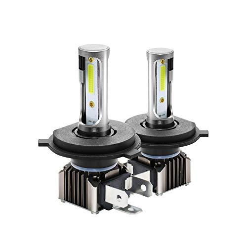 WWSUNNY H7 Faros Delanteros Bombillas LED 36 W 6000LM 6000K Super Brillante Lámpara de Luces Blancas para Coches, Vehículos, IP68 Impermeable (2 Piezas)