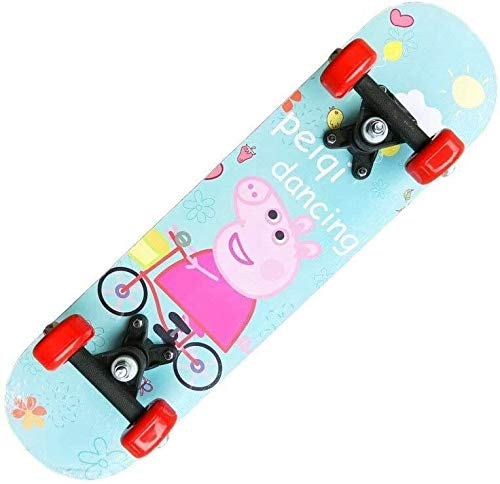 Aniseed Cruiser Skateboard 24 Inch Complete Skateboard, Boys Girls Teens Beginner Piggy