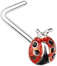 18 GA Blackline Dainty Bow-Tie Cartilage Tragus Earring Davana Enterprises