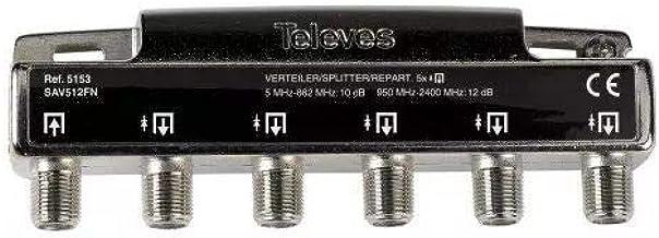 Televes 5153 - Repartidor 5 salidas: Amazon.es: Bricolaje y ...