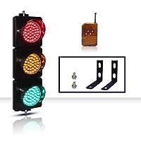 LED交通 信号ライトウォールライト緑、黄、赤の信号機 、ブラケットおよびリモコン付き、幼稚園の教育、通路、12V / 220Vに適しています