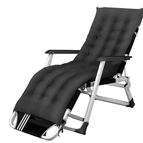Relaxsessel Liegender Metall Gestell Relaxliegen Verstellbar für Wohnzimmer Balkon | Liegestühle Liegestuhl Klappbar Garten Deko Design | Recliner Armchair Comfort Gartenmöbel
