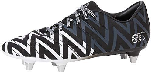 Canterbury of New Zealand Unisex Kid's Phoenix 2.0 Soft Ground Rugby Boots, Black (Black Junior Unisex), 13 (31 EU)