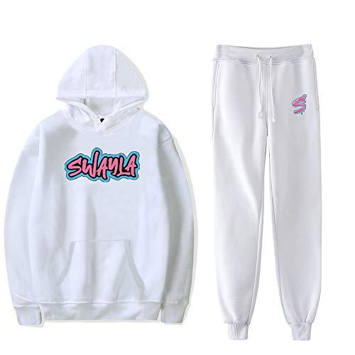 WAWNI Sway House Merch Hoodies Set Men Women Hoodies Pants Two-Piece Sweatshirt Suit (2,Large)