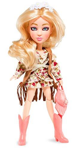 BANDAI YL30262 SnapStar– Ankleidepuppe 23cm– Aspen– personalisierbare Puppe mit Perücke und kostenloser App, um deinen eigenen Stil zu kreieren & zu teilen