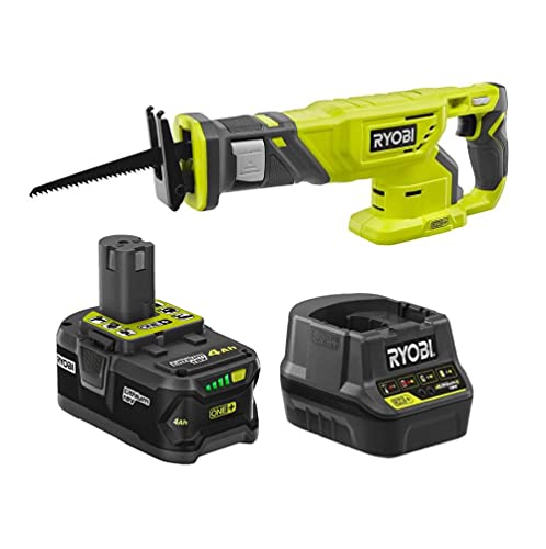 18-Volt Cordless Reciprocating Saw Kit with a 4Ah Battery and Charger (No Retail Packaging, Bulk Packaged)