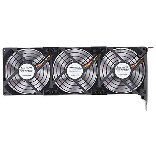 Graphic Card Fans GPU Cooler PCI Slot Fan Triple 92mm 90mm 9025 Fans for Graphic Card Video Card VGA Cooler