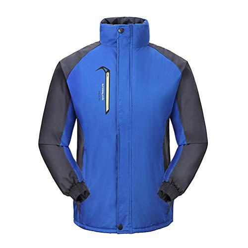 VORCOOL VORCOOL Windproof Schnee Ski Jacken wasserdicht Skifahren Kapuzenjacke für Outdoor Berg Wandern Camping Größe XXL (blau)