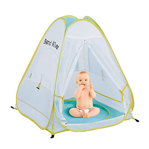 Product Image of the Bend River Pop Up Baby Beach Tent, UPF 50+ Sun Shelter with Pool, Portable...
