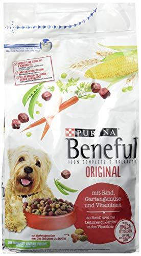 Purina Beneful Hundetrockenfutter Original (mit Rind und Gemüse), 1,5 kg