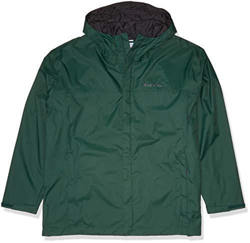 Columbia Men's Watertight II Waterproof, Breathable Jacket, rain Forest, Large