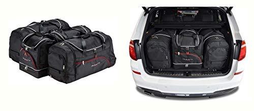 KJUST Speciale Autotassen Set 5 st compatibel met BMW 3 GRAN TURISMO 2013-2018