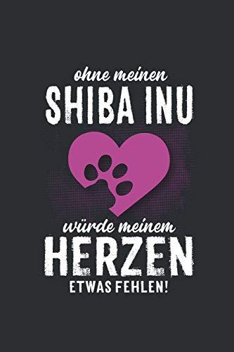 Ohne meinen Shiba Inu: Wochenplaner 2020   Kalender mit einer Woche je Doppelseite und Jahres- und Monatsübersicht   ca. Din A5