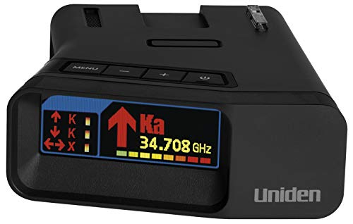 Uniden R7 Extreme Long Range Radar Detector with GPS & Threat Detection