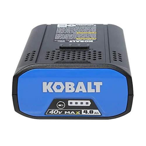 Kobalt 40-Volt 4-Amps 4.0ah Rechargeable Lithium Ion (Li-Ion) Cordless Power Equipment Battery
