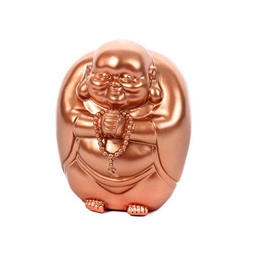 CKB Ltd® Buddha Money Bank Copper Kupfer Farbe - Vintage-Spardose Spar Jar Neuheit kühle Entwurfs Piggy Bank Sparschwein Schwein Spardose Gelddose