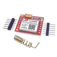 電子最小SIM800L GPRS GSMモジュールMicroSIMカードコアボードクアッドバンドTTLシリアルポート