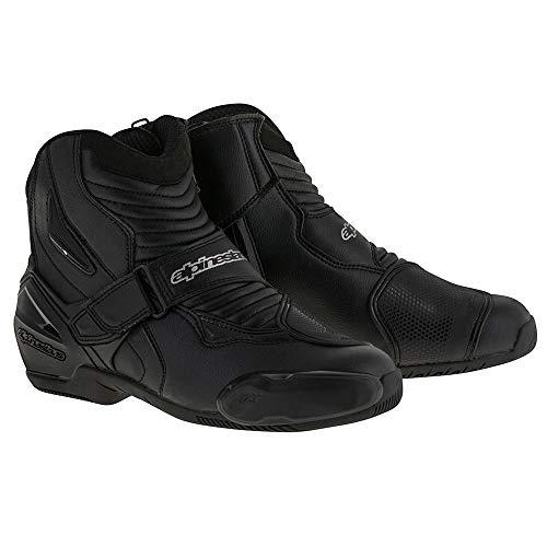 Botas negras para motocicleta