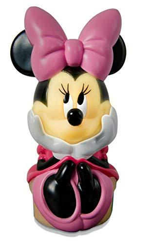 PEGANE Veilleuse et Lampe Disney Minnie Mouse - Dim : 12 x 6,5 x 6,5 cm