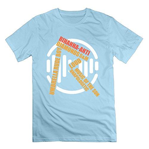 rmvep Loud música letra R del Hombre Funny camiseta de manga corta T