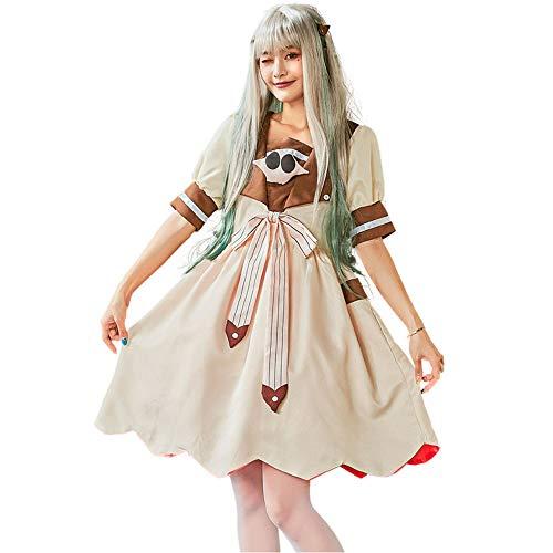 JJAIR Disfraz de anime japons para padres e hijos, disfraz de Halloween, anime Academia escolar, no tiene calcetines de encaje y peluca, adultos, S