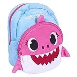 ARTESANIA CERDA - Mochila para la Guarderia de Baby Shark - 28 cm, Licencia Oficial Nickelodeon, Multicolor, Infantil (2100003162_)