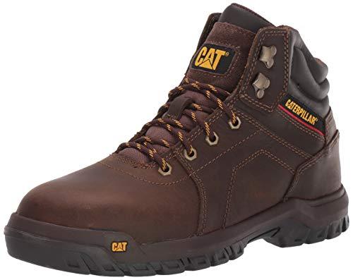 Caterpillar Men's Axle Steel Toe Construction Boot, Brown, 8.5 W US