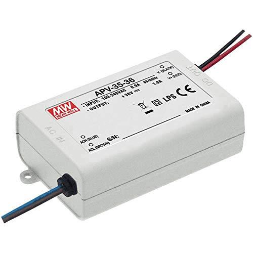 LED Netzteil 36W 12V 3A; MeanWell, APV-35-12