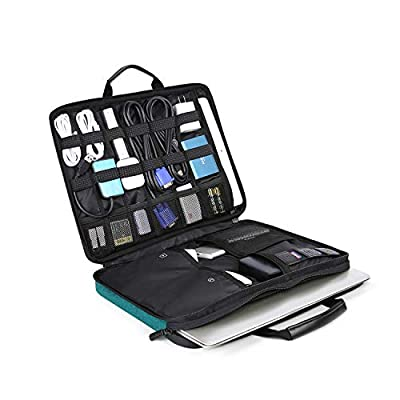 BAGSMART Travel Organizer Electronics Laptop Accessories Bag