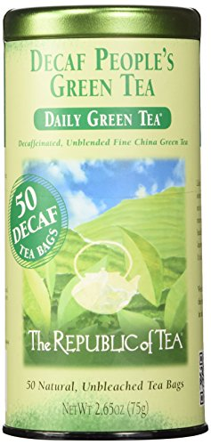 The Republic of Tea, The Peoples Green Tea Decaf, 50-Count