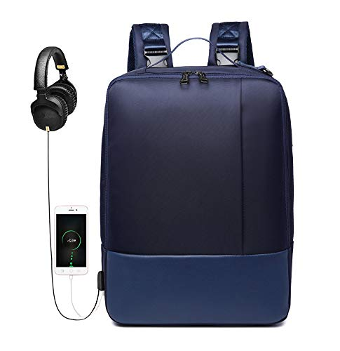 """WOTENCE Laptop Backpack 4 in 1 Multifuncionale Expansion Backpack for 15.6""""Convertible Laptop Travel Messenger Bag Backpack with USB Headset Port for Travel Business College Outdoor fits"""