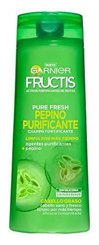 Garnier Fructis Pure Fresh Pepino Purificante Champú Pelo Graso - 360 ml