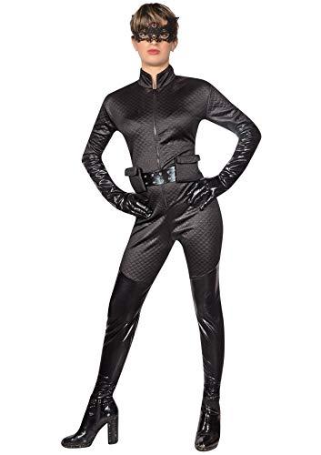 Ciao Catwoman costume adulto originale DC Comics (Taglia S), Nero