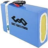 uppcycle Batterie de vélo électrique 48V 20Ah pour Batteries au Lithium-ION de Moto de Scooter Ebike E 500W / 750W / 1000W (48V 20Ah 500W 1000W)