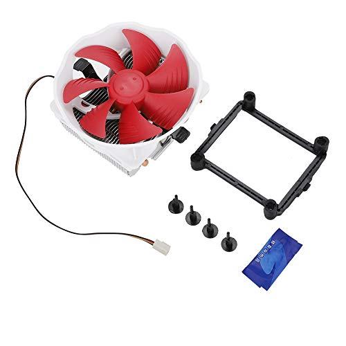 Radiador V6 Control Inteligente CPU Radiador de enfriamiento Cuatro Tubos de Calor 12CM Ventilador de enfriamiento de Aire silencioso