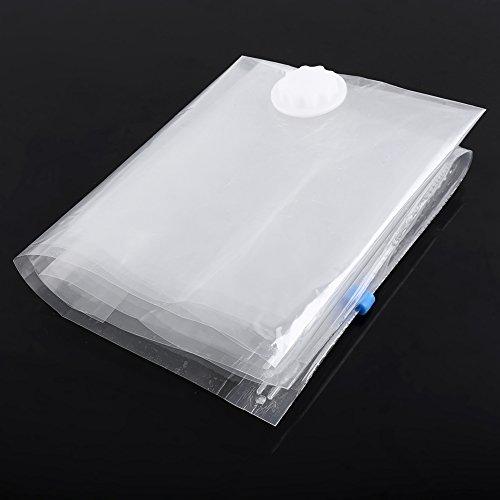 GXP 5pcs / Pack Inicio Vacío Almacenamiento Comprimido Bolsas De Almacenamiento SAPCE Saver Paquete De Viaje Organizador 50 X 60cm