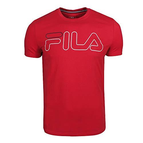 Fila Herren T-Shirt Ricki rot, Größe:M